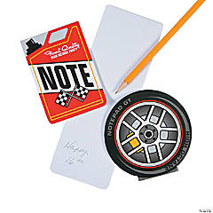 Race Car Notepads