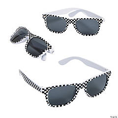 Race Car Sunglasses - 12 Pc.