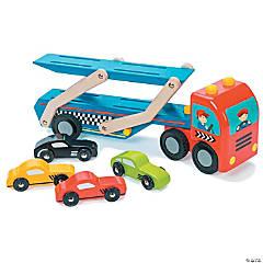 Race Car Transporter Set