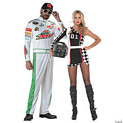 Race Day Couples Costumes
