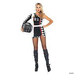 Racer Dress Adult Women's Costume