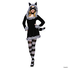Racy Raccoon Costume for Women