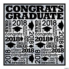 Rad Grad 2018 Plastic Backdrop Banner