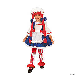 Rag Doll Girl Girl's Costume