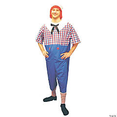 Raggedy Andy Plus Size Adult Men's Costume