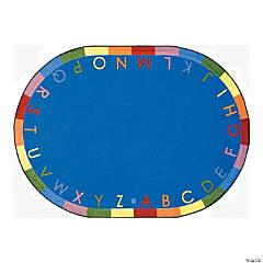 Rainbow Alphabet® Classroom Rug - 5 ft. 4
