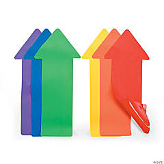 Rainbow Arrow Spot Markers