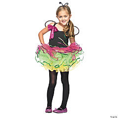 Rainbow Bug Girl's Costume