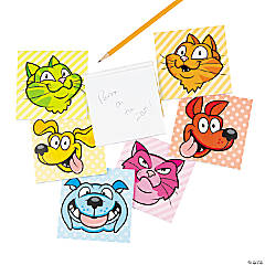 Rainbow Dog & Cat Notepads