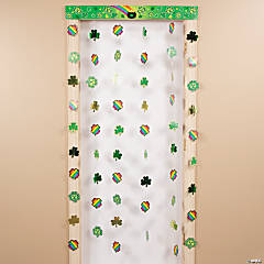 Rainbow Door Curtain with Border