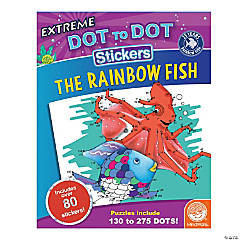 Rainbow Fish Dot to Dot Sticker Book