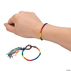 Rainbow Friendship Bracelets