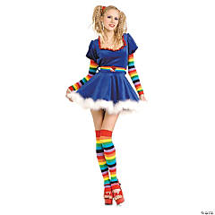 Rainbow Girl Adult Women's Costume