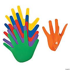Rainbow Hand Spot Markers
