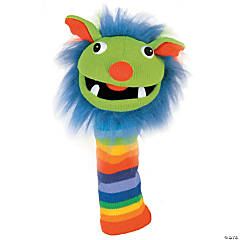 Rainbow Knitted Puppet, Grade Pre-K-12