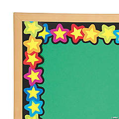 Rainbow of Stars Bulletin Board Borders