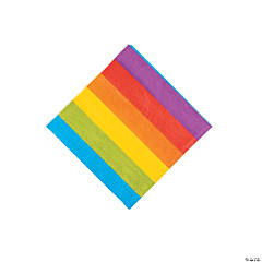 Rainbow Party Beverage Paper Napkins