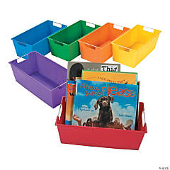 Rainbow Picture Book Library Storage Organizers