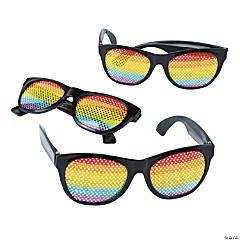 Rainbow Pinhole Glasses