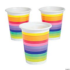 Rainbow Plastic Plastic Tumblers