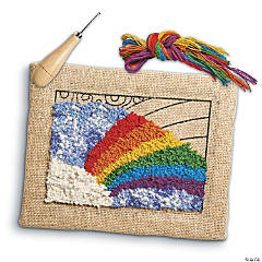 Rainbow Rug Hooking Kit