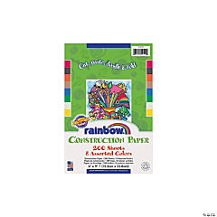 Rainbow Super Value Construction Paper - 6