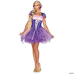 Rapunzel Adult Costume For Women