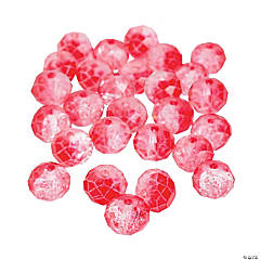 Raspberry Color Beads - 8mm