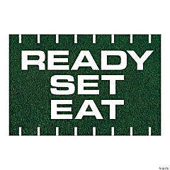 Ready, Set, Eat Vinyl Banner