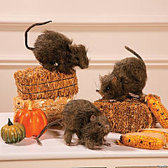 Realistic Hairy Rats