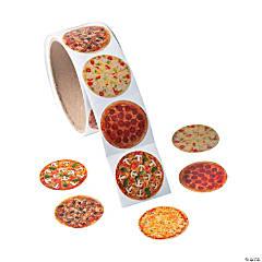 Realistic Photo Pizza Stickers