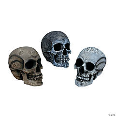 Realistic Skull Small Grey
