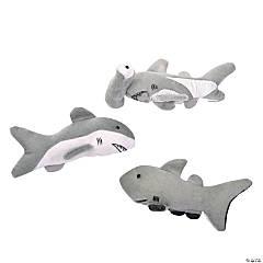 Realistic Stuffed Shark Assortment