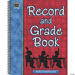 Record & Grade Book, Pack of 4 books
