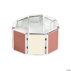 Rectangle Cream & Brown Craft Kit