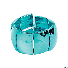 Rectangle Metallic Turquoise Bracelet Craft Kit