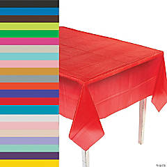 Rectangle Plastic Tablecloth