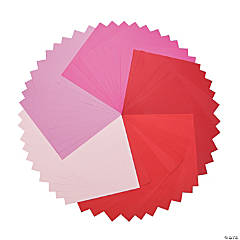 Red & Pink Super 50 Paper Pack
