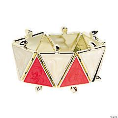 Red & White Bracelet Craft Kit