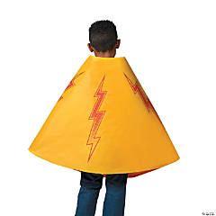 Red & Yellow Superhero Reversible Cape