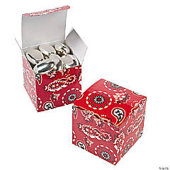 Red Bandana Gift Boxes