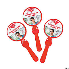 Red Graduation Custom Photo Clappers