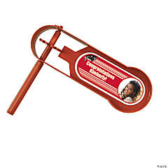 Red Graduation Custom Photo Giant Noisemakers
