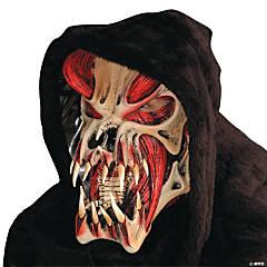 Red Halloween Predator Mask