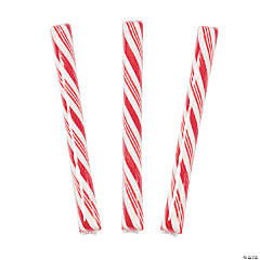 Red Hard Candy Sticks