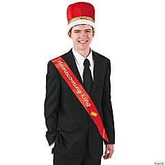 "Red ""Homecoming King"" Sash"