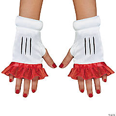 Red Minnie Glovettes for Girls
