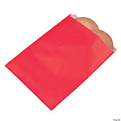 Red Parchment Treat Bags