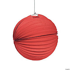 Red Party Hanging Paper Lanterns