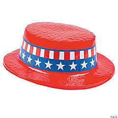 Red Patriotic Skimmer Hats